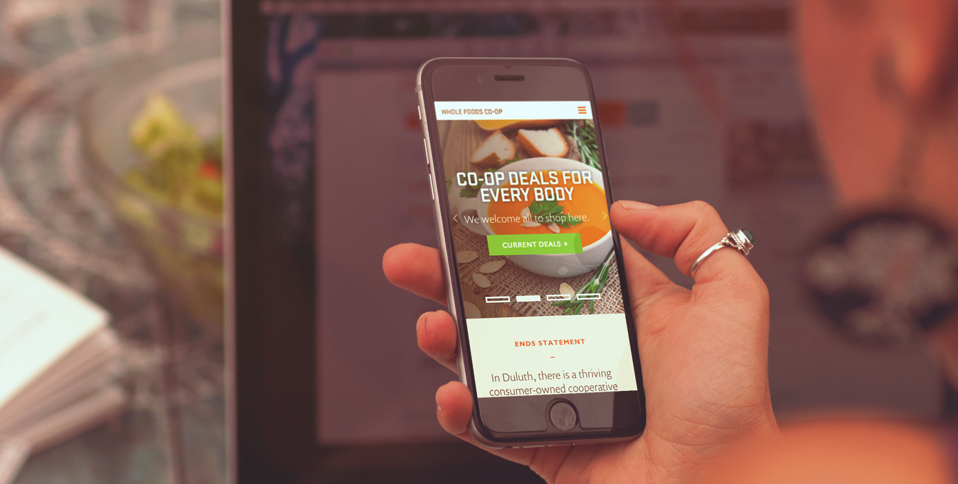 whole foods coop mobile site