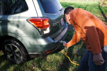 Subaru Mud Pull