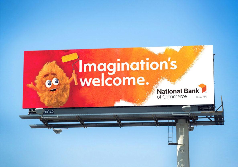 national bank of commerce billboard